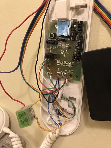 Nuki enhanced wiring